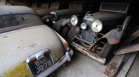 Trove of forgotten cars to go under hammer