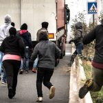 <b> 8. Migrant crisis worsens:</b> Calais has been at the heart of much of France's immigration news in 2014 as authorities in the northern port city struggled to control the arrival of migrants trying to force their way onto UK-bound trucks. Increasing tension and violence has spurred protests from locals on both sides of The Channel and led to a rise in far-right support. France has also accused the UK of not doing enough to put a stop to the border control crisis.Photo: AFP