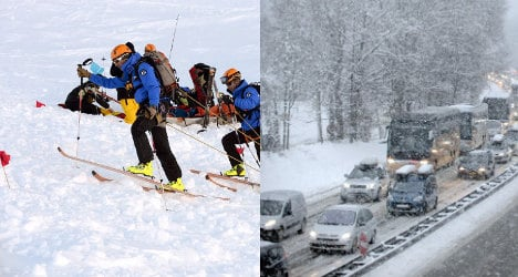 France travel chaos ends but icy spell to continue