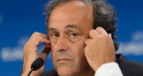 France's Platini denies Picasso gift from Russia