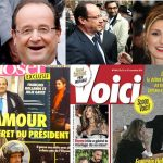 """<b>NUMBER 1 - Hollande's sex life goes viral:</b> It may not have been the most important story of the year in France but it was the one that easily attracted the most attention from around the world. All eyes turned to France at the start of 2014 when gossip magazine Closer published photos of French President Francois Hollande and his rumoured lover, actress Julie Gayet. The drama and media storm that followed included allegations that the pair had used a 'love nest' with links to the Corsican mafia, several privacy lawsuits, Hollande's dumped ex hospitalized for """"extreme stress-related fatigue"""". She then hit back with a book about their love life in which she accused Hollande of calling poor people """"toothless"""" (hence the joke photo). Ironically Hollande's popularity levels went up. He was of course, just doing what French presidents do."""