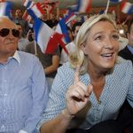 <b>3. Le Pen comes out on top:</b> In May, France's far-right Front National party sent shockwaves around both home and abroad when it came out on top in the European Elections. Eurosceptic and staunchly anti-immigration, the FN's victory showcased how an underlying wave of nationalism is gradually becoming more mainstream in France, with fewer protests and opposition than when the party led by Marine Le Pen (previously by her father Jean-Marie) reached the final round of the presidential elections in 2002.