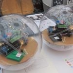 <b>Robotic toy for autistic children:</b> This robotic ball was designed for children with autism to help improve interaction between those children affected by the condition and their parents or teachers.