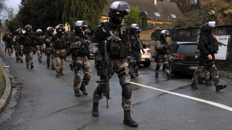 'As bloody as it's been, France is not at war'