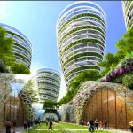 An organic corridor in the French capital of the futurePhoto: Vincent Callebaut