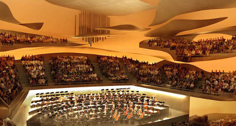Ultra-modern concert hall to open in Paris