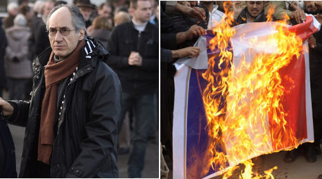 Charlie Hebdo stands firm as protests spread