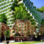 The future of Paris could be greener than you think...Photo: Vincent Callebaut