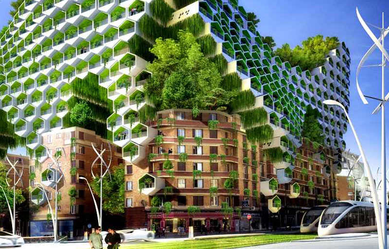 A future vision of Paris – the year 2050