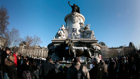 IN PICTURES: Paris marches for unity after terror attacks