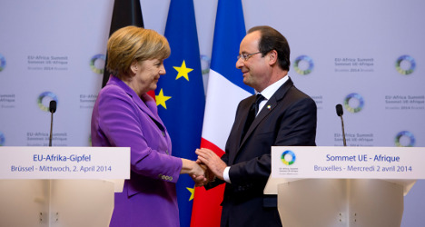 Hollande and Merkel to visit Kiev and Moscow