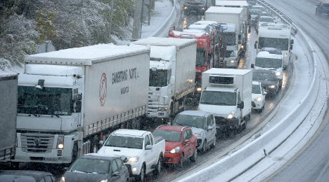 Skiers heading to the Alps face travel chaos