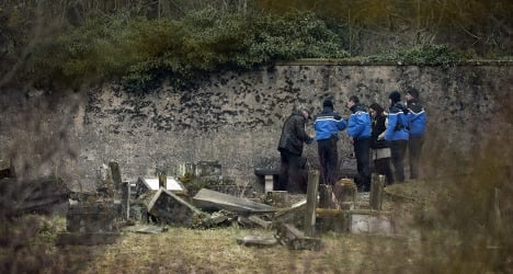 French teens charged for defacing Jewish graves