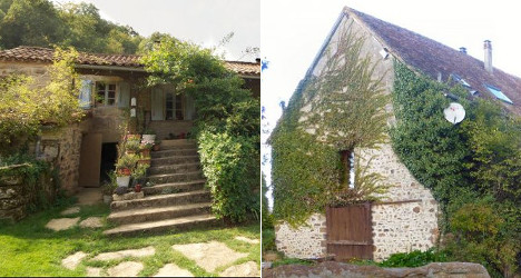French property face-off: Rustic cottage vs manor
