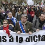 Paris hosts protest in support of Greece