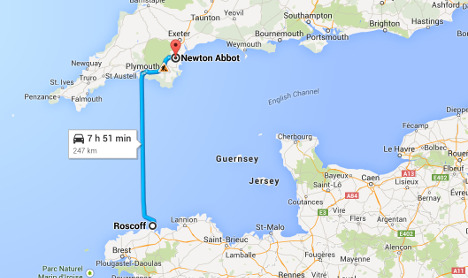 UK councillor blasted for 250km French commute