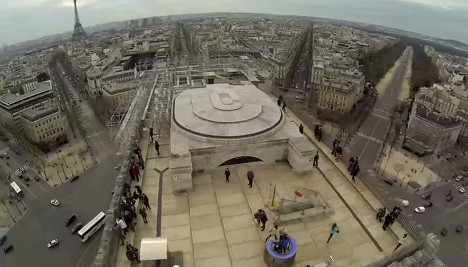 VIDEO: Paris by drone – banned but beautiful