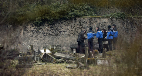 Teens held after Jewish tombs defaced in France