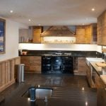 The recently renovated kitchen has everything you need, including granite worktops to put your cooking skills to the test with some local delicacies such as fondue savoyarde.Photo: Leggett