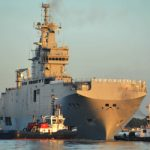 France tests Moscow's second Mistral ship