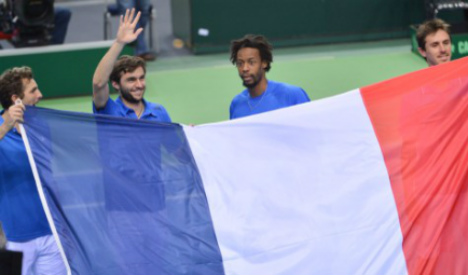 French delight at Davis Cup quarters spot