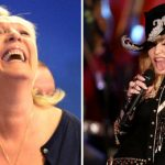 U-Turn: Le Pen says yes to drink with Madonna