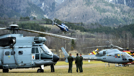 Jet plunged for eight minutes: Germanwings
