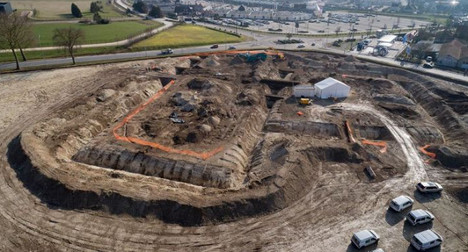 Ancient tomb of Celtic prince found in France