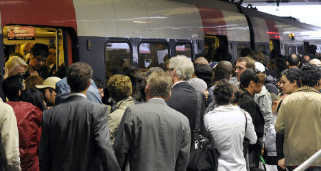 French rail strike to hit RER B and local trains
