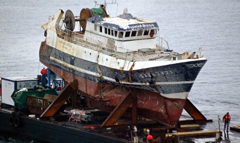 France probes Channel shipwreck mystery