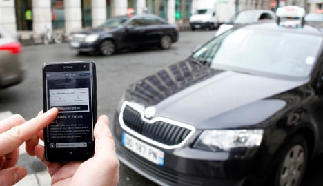 French police raid offices of Uber in Paris