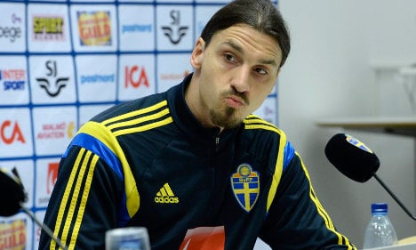 Zlatan defends France jibe on home soil