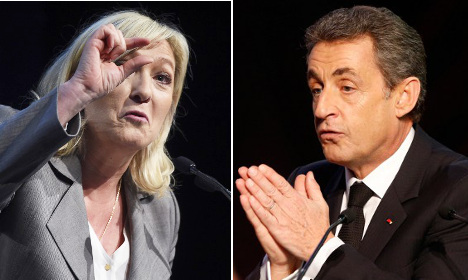 Sarkozy refuses to call for an anti-Le Pen vote