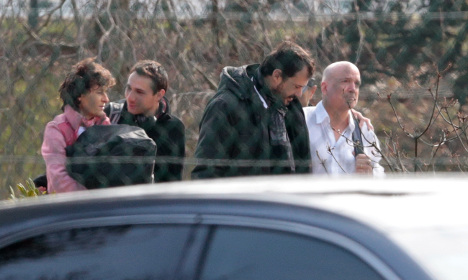 French reality TV team back home after crash
