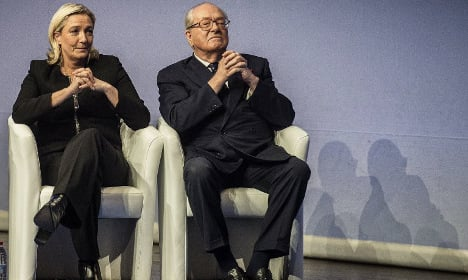 Gas chamber comments widen Le Pen family rift
