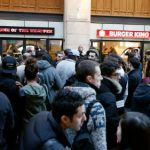 French diners go crazy for Burger King