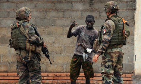 French soldiers 'raped boys in C.Africa'
