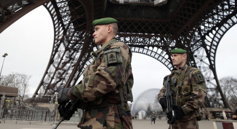 France: 7,000 soldiers to permanently patrol sites