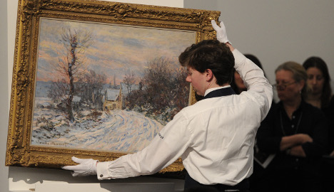 Monet works set to sell for millions in New York