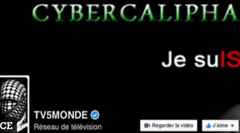 Hacking of French TV channel was 'terror act'