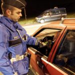 Drunk French dad gets son, 12, to drive home