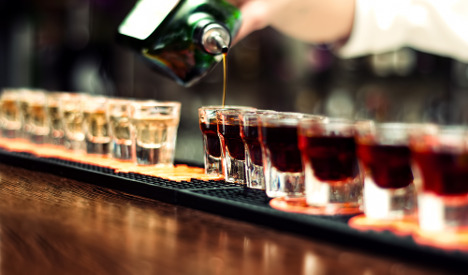 Trial after Frenchman dies downing 56 shots