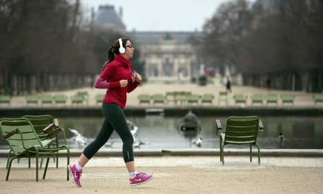Running goes 'viral' in once sports-shy France