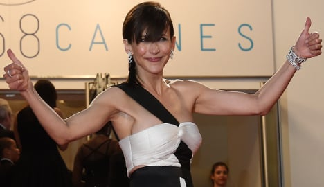 Sophie Marceau: Queen of baring all at Cannes