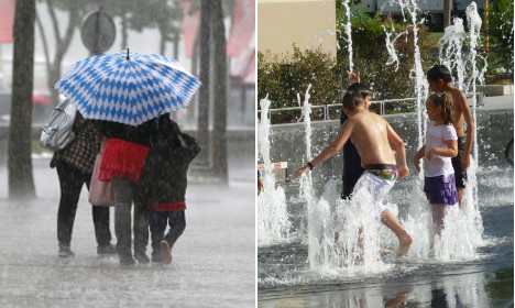 Storms to hit Paris and northern France