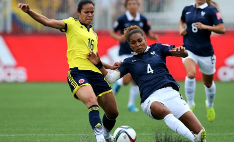Colombia upset France at Women's World Cup