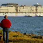 World's biggest cruise ship takes to the water