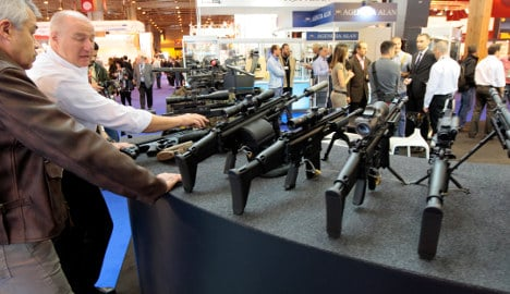 French arms export boom boosts economy
