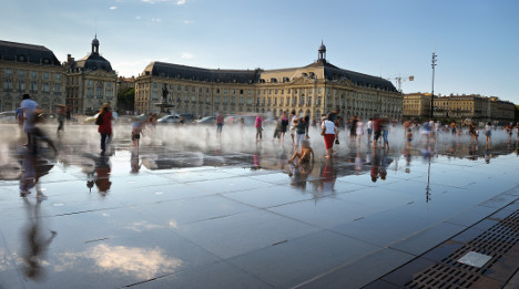 And the most beautiful square in France is...?