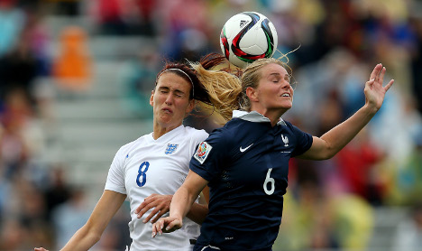 England women fall to France once again